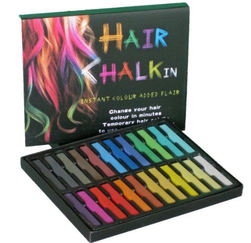 大ブレイク中!HAIR CHALKIN 選べる 12色/24色 髪専用に開発...