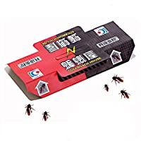 ゴキブリトラップ、ゴキブリを捕まえるための付箋紙の家。家庭、居間、キッチン、オフィスなどに適しています。20個