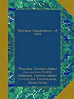 Montana Constitution of 1884