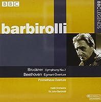ブルックナー:交響曲第7番/ベートーヴェン:序曲集(ハレ管/バルビローリ)(1966-1969)