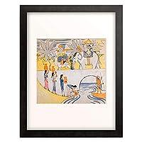アウグスト・マッケ 「Der Traum des Junglings. 1913.」 額装アート作品
