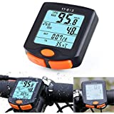 Auveach Bike Cycling Computer Bicycle Odometer Speedometer Wired Backlight