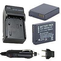 バッテリー( 2- Pack )と充電器for Leica bp-dc10、bp-dc10-e、bp-dc10-u Li - Ion充電式バッテリー