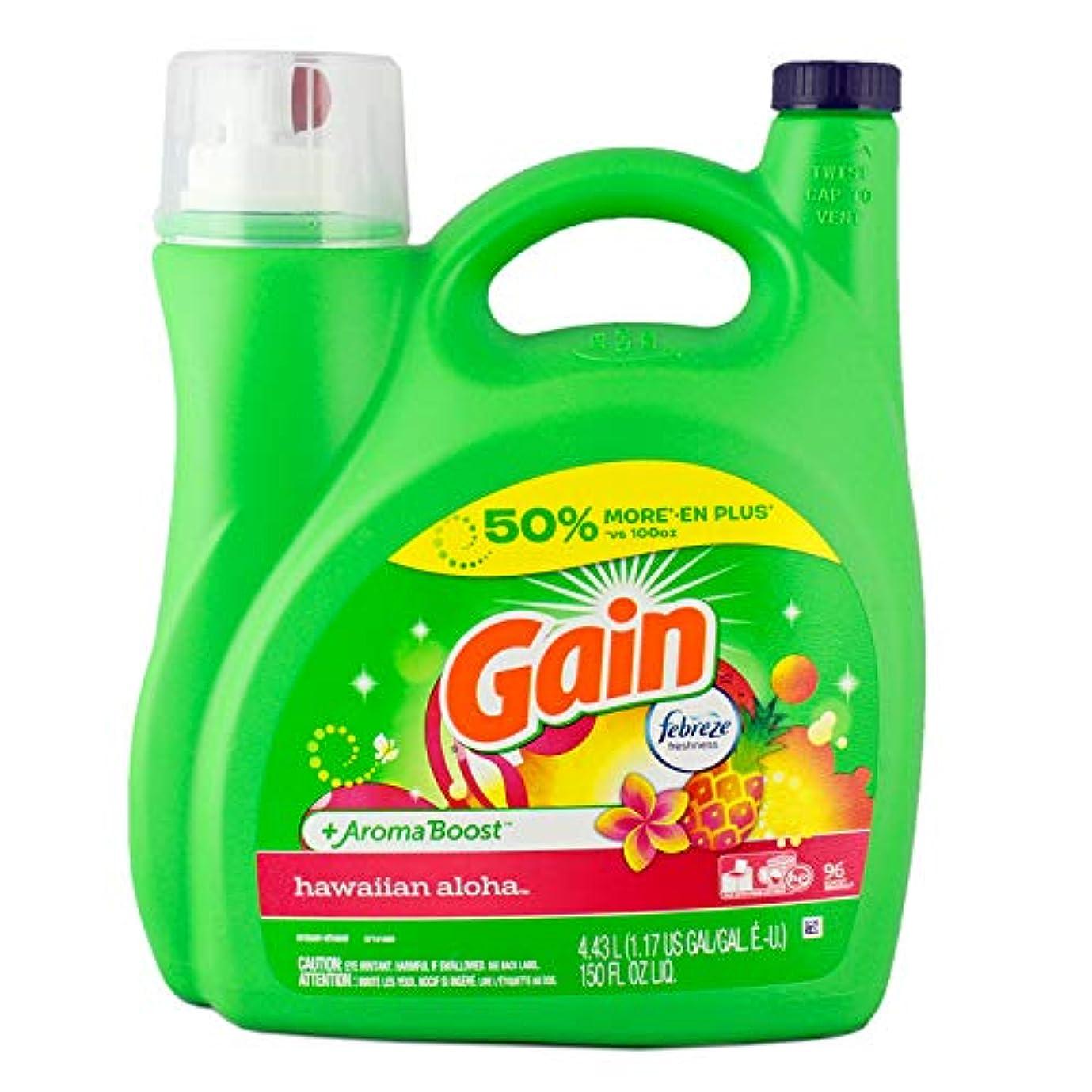 相談義務づける自殺【GAIN】ゲイン洗濯洗剤 ウィズファブリーズ【ハワイアンアロハ】72回分(150oz 4430ml)