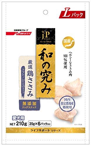 ジェーピースタイル 和の究み 国産鶏ささみソフト ひと口タイプ 210g (35g分包x6)
