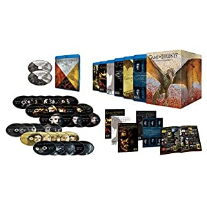 ゲーム・オブ・スローンズ <第一章~第六章>ブルーレイ・ボックス (初回限定生産/30枚組+ボーナス・ディスク4枚付) [Blu-ray]