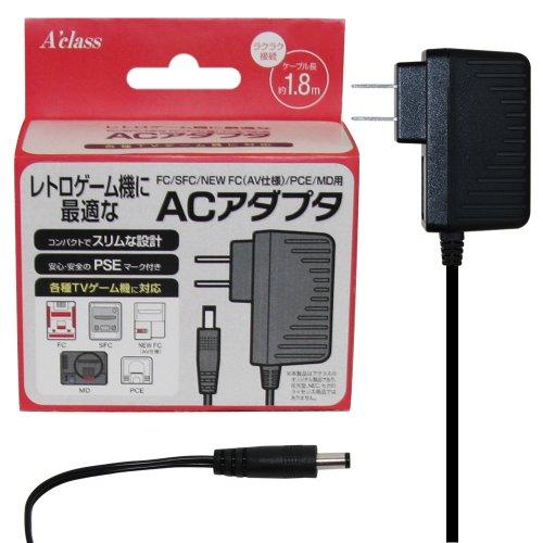 FC/SFC/FC/PCエンジン/メガドライブ用AC アダプタ