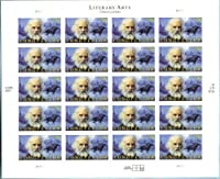 Henry Wadsworth Longfellow Collectible US Postage Stamps 4124 by USPS