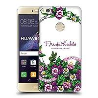 Official Frida Kahlo バンチ パープル・フローラル ハードバックケース Huawei P8 Lite (2017)