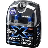 IPF ハロゲン SUPER J BEAM XENON WHITE 4800K H3 XE35