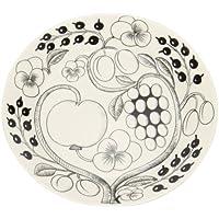 【Arabia】 [ アラビア ] ブラックパラティッシ PARATIISI BLACK&WHITE 64 1180006670-9 フラットプレート(皿) Plate flat 26cm 並行輸入品 新生活 [並行輸入品]