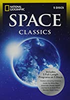 Space Classics by National Geographic, 5 discs include programs: 1~ Hubble's Amazing Universe...2~ Inside the Milky Way...3~ Asteroids: Deadly Impact...4~ Journey to an Alien Moon...5~ Monster Black Holes