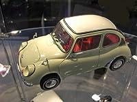 エブロ 1/12 スバル360 1963 アイボリー 完成品