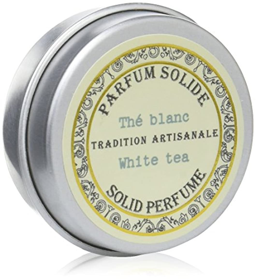 見る人りんご金銭的なSenteur et Beaute(サンタールエボーテ) フレンチクラシックシリーズ 練り香水 10g 「ホワイトティー」 4994228023063