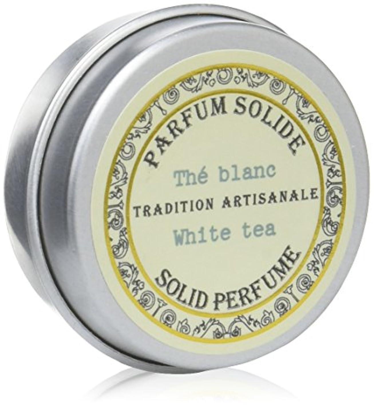 蜜旋律的承知しましたSenteur et Beaute(サンタールエボーテ) フレンチクラシックシリーズ 練り香水 10g 「ホワイトティー」 4994228023063