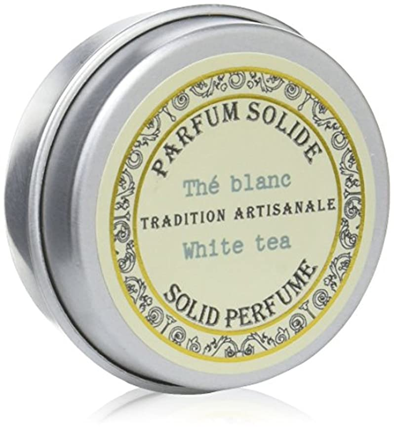 知っているに立ち寄る頭痛おなかがすいたSenteur et Beaute(サンタールエボーテ) フレンチクラシックシリーズ 練り香水 10g 「ホワイトティー」 4994228023063