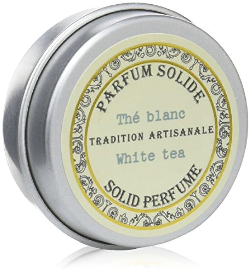 幹フェロー諸島後継Senteur et Beaute(サンタールエボーテ) フレンチクラシックシリーズ 練り香水 10g 「ホワイトティー」 4994228023063