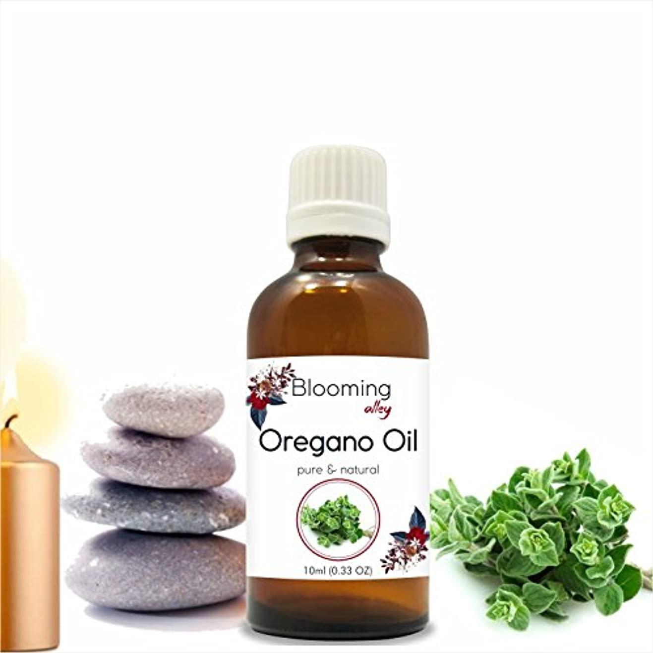 まだ安定しましたかけるOregano Oil (Origanum Vulgare) Essential Oil 10 ml or 0.33 Fl Oz by Blooming Alley