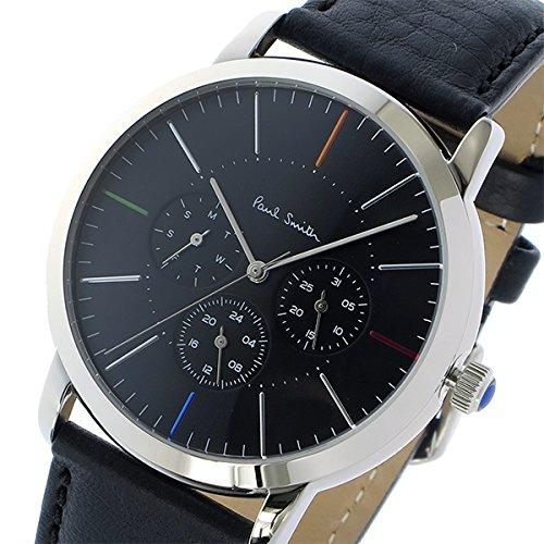 ポールスミス PAUL SMITH エムエー MA クオーツ 腕時計 P10110 ブラック[メンズ] [並行輸入品]