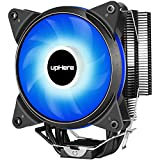 Novonest サイズオリジナル設計 120mmサイドフロー型CPUクーラー 青いLEDファンを搭載した 静音 [Intel/AMD両対応]【AC12BE】…
