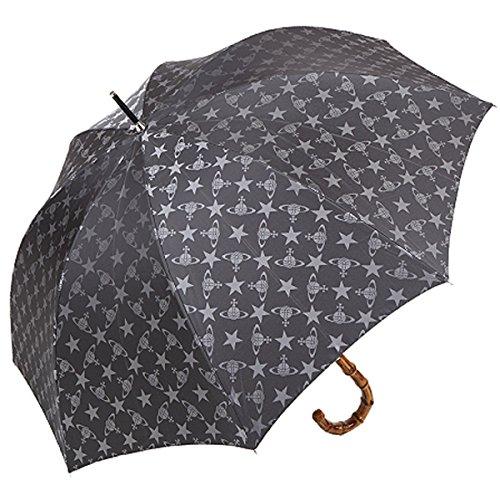 (ヴィヴィアン ウェストウッド) Vivienne Westwood 傘 ファッション メンズ ORB オーブ 黒 ブラック アンブレラ パラソル 雨 レイン 雑貨 小物