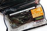 ノリーズ(NORIES) ワーム エスケープリトルツイン 4インチ 98mm グリーンパンプキン ブラックFlk/ウォーターメロン レッド+グリーンFlkバック 4308#133