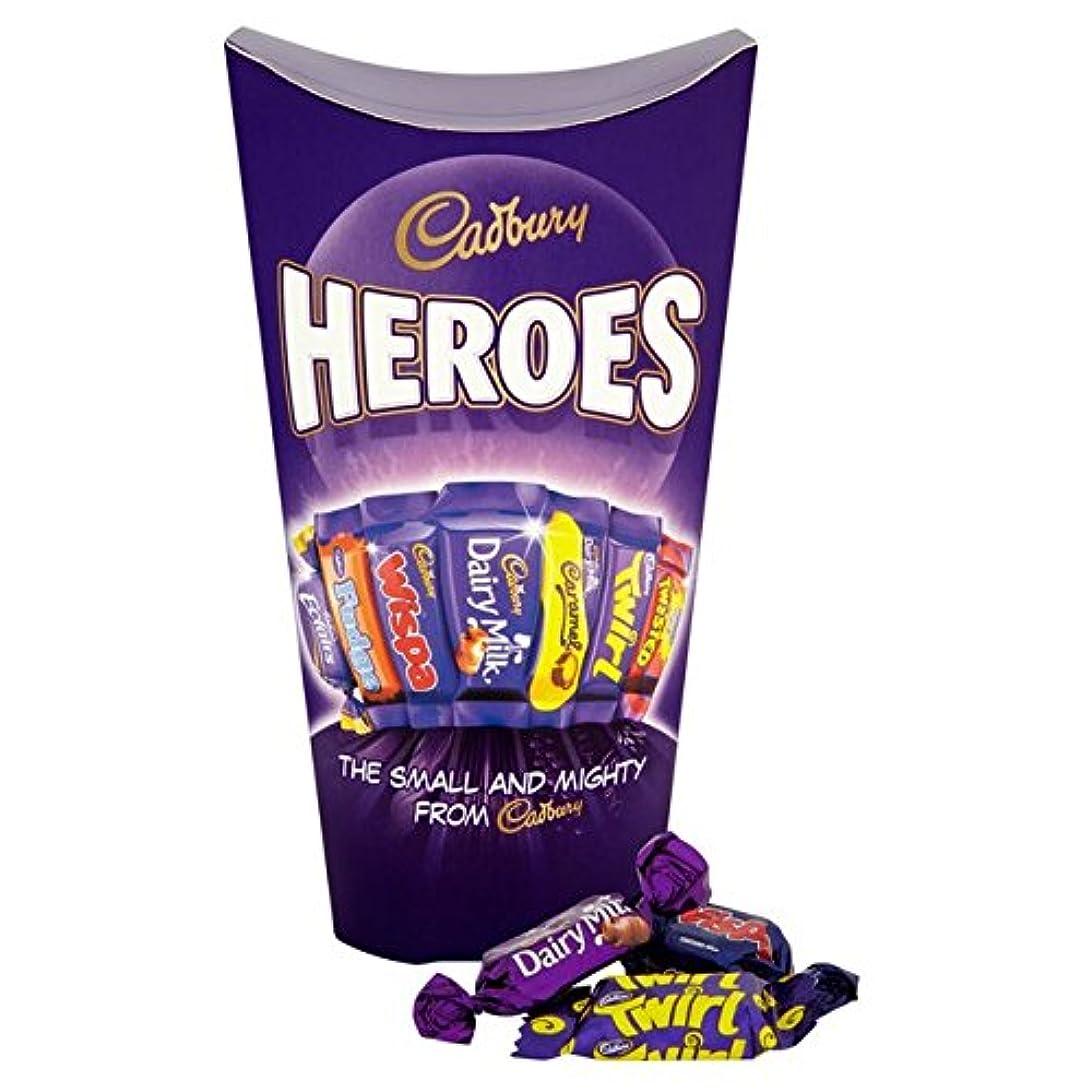 密度蒸責任キャドバリーの英雄の323グラム (x 6) - Cadbury Heroes 323g (Pack of 6) [並行輸入品]