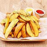 フライドポテト 1㎏×4袋 ナチュラル 皮付き 冷凍 料理店でも使われる業務用 ポテト ポテトフライ