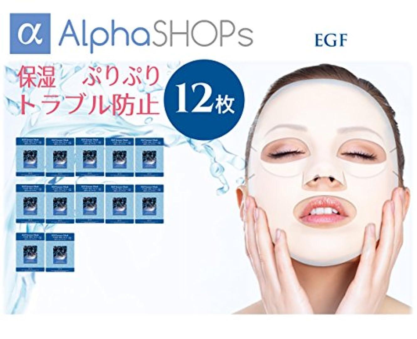 期限酸っぱい中央12枚セット EGF エッセンスマスク 韓国コスメ MIJIN(ミジン)