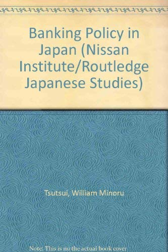 Download Banking Policy in Japan: American Attempts at Reform During the Occupation (Nissan Institute/Routledge Japanese Studies Series) 0415000033