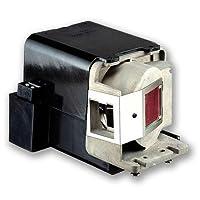 元電球と汎用ハウジングfor BenQ mw769交換5j.j6r05.001、5j.j7e05.001プロジェクターランプ