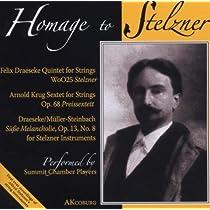 String Quintet: Summit Chamber Players +arnold Krug: Preis Sextet