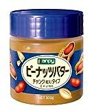 カンピー ピーナッツバターチャンク(粒入)タイプ 300g