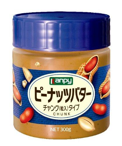カンピー ピーナッツバター チャンク(粒入)タイプ(300g)
