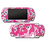 My Little Pony Friendship is Magic MLP Pinkie Pie Video Game Vinyl Decal Skin Sticker Cover for Sony PSP Playstation Portable Original Fat 1000 Series System by Vinyl Skin Designs [並行輸入品]