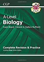 A-Level Biology: Edexcel A Year 1 & 2 Complete Revision & Practice with Online Edition by CGP Books(2015-09-25)