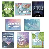 The World Mini Collection Wall Card Prints by Children Inspire Design