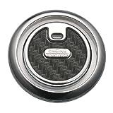 カーメイト(CARMATE) ドレスアップパーツ プッシュスタートボタン用カバー トヨタAタイプ カーボン調 ブラック DZ189