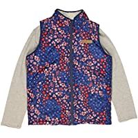 Buffalo David Bitton Girl's 2-Piece Reversible Full Zip Vest with Long Sleeve Shirt