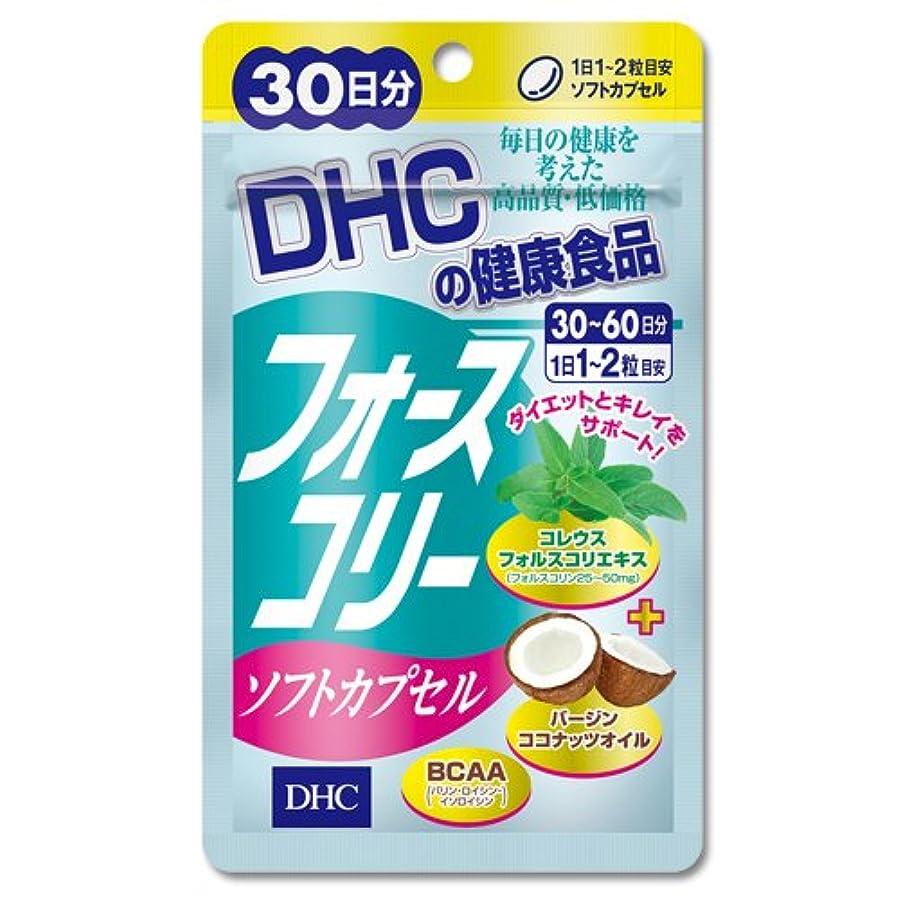 女性標準豊かにするDHC フォースコリー ソフトカプセル 30日分