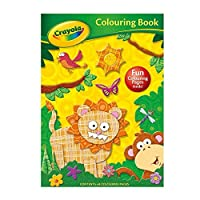 Crayola Colouring Book Jungle Adventures Arts Crafts (Dispatched From UK)
