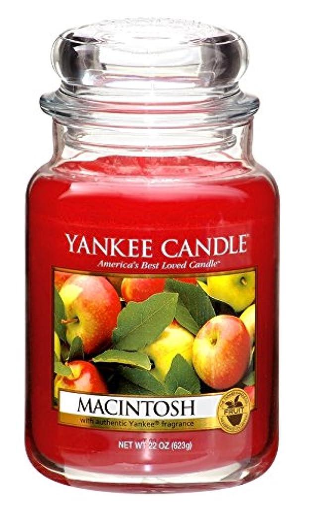 気味の悪い本質的ではない衰えるヤンキーキャンドル ジャータイプ Lサイズ(燃焼時間約110~150時間) アメリカ製 YANKEECANDLE マッキントッシュ