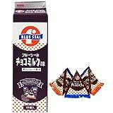ブルーシール チョコミンツ 18袋入×2P 沖縄物産企業連合 沖縄を代表するアイス屋さん・ブルーシールのチョコミンツ レトロなパッケージ 沖縄土産におすすめ
