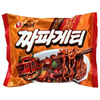 『農心(ノンシム)』四川料理チャパゲティ <韓国ラーメン>