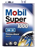 Mobil エンジンオイル スーパー 1000 5W-30 SN/GF5 4L [HTRC3]