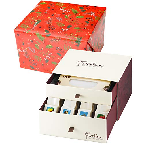 UCC上島珈琲 CAFEMAIL(カフェメール) ドリップコーヒーギフト 1箱(4種×5個&ペーパードリップ×20枚)