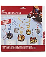 American Greetings Transformers Hanging Party Decorations