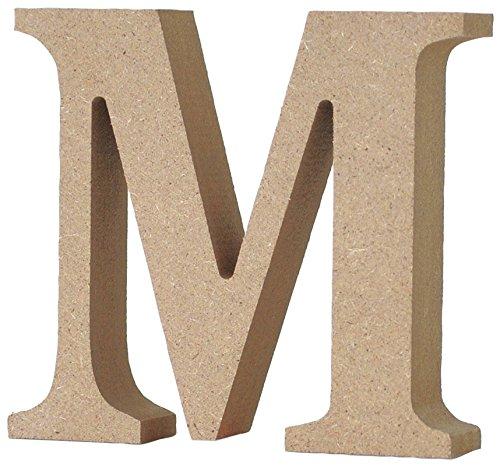 マルカイコーポレーション インテリア オブジェ アルファベット レター 木製 M