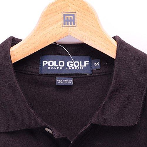 (ポロゴルフ ラルフローレン) POLO GOLF Ralph Lauren [メンズ Mサイズ]ポロシャツ 半袖 ブラック/黒 M [並行輸入品]