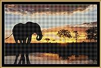 - タペストリーパターン [PDF on CD] (Cross Stitch Pattern [ PDF on a CD ] ) - ELEPHANT'S SUNSET [ PDF on a CD ]